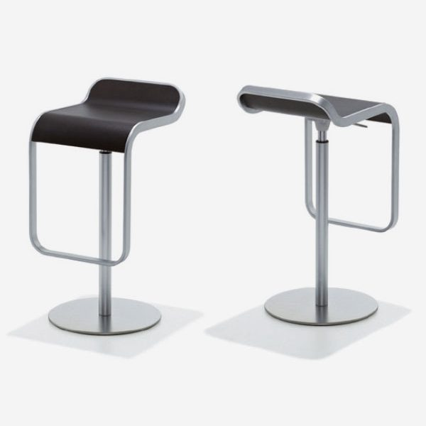 Barhocker LEM, nussbaum – PERFECT Shop